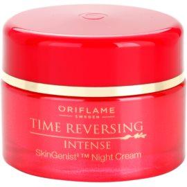 Oriflame Time Reversing Intense creme de noite suavizante para refirmação de pele   50 ml