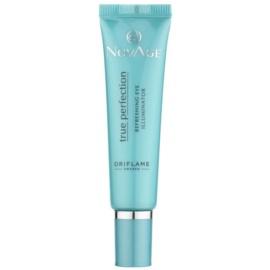 Oriflame Novage True Perfection crema iluminadora para contorno de ojos con cafeína  15 ml