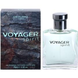 Oriflame Voyager Spirit toaletní voda pro muže 75 ml