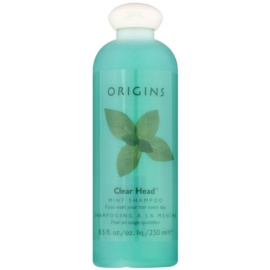 Origins Clear Head® champô refrescante com hortelã-pimenta  250 ml