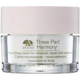 Origins Three Part Harmony™ creme nutritivo para restaurar a densidade da pele com efeito iluminador  50 ml