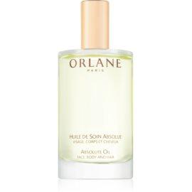 Orlane Sun Glow tápláló olaj arcra, testre és hajra  100 ml