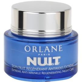 Orlane Extreme Line Reducing Program noční regenerační krém proti vráskám  50 ml