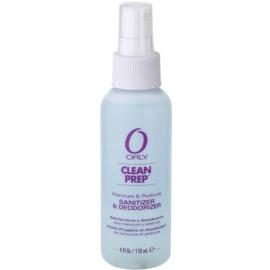 Orly Clean Prep čisticí a desinfekční sprej na ruce, nehty a chodidla  118 ml