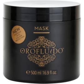 Orofluido Beauty Intensief Hydraterende Masker voor Natuurlijk of Gekleurd Haar   500 ml