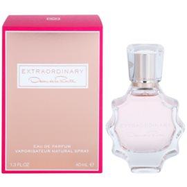 Oscar de la Renta Extraordinary Parfumovaná voda pre ženy 40 ml