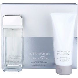 Oscar de la Renta Intrusion Geschenkset I. Eau de Parfum 100 ml + Körperlotion 200 ml
