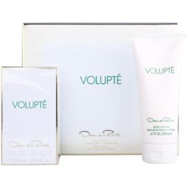 Oscar de la Renta Volupté подаръчен комплект I. тоалетна вода 100 ml + мляко за тяло 200 ml