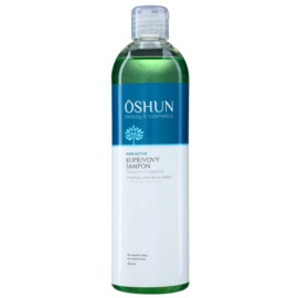 OSHUN Hair Active champô de urtiga para cabelo oleoso  400 ml