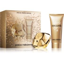 Paco Rabanne Lady Million Geschenkset VIII.  Eau de Parfum 80 ml + Körperlotion 100 ml