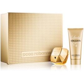 Paco Rabanne Lady Million coffret cadeau V.  eau de parfum 50 ml + lait corporel 100 ml