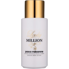 Paco Rabanne Lady Million leche corporal para mujer 200 ml