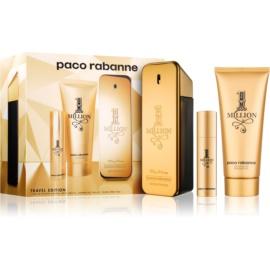 Paco Rabanne 1 Million zestaw upominkowy XIII.  woda toaletowa 100 ml + woda toaletowa 10 ml + żel pod prysznic 100 ml