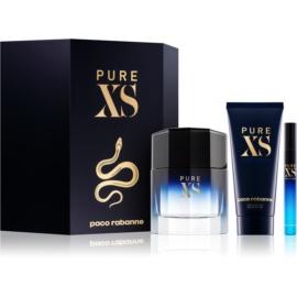 Paco Rabanne Pure XS darilni set II.  toaletna voda 100 ml + gel za prhanje 100 ml + toaletna voda 10 ml