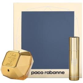 Paco Rabanne Lady Million set cadou XXIV. Eau de Parfum 50 ml + Eau de Parfum 10 ml