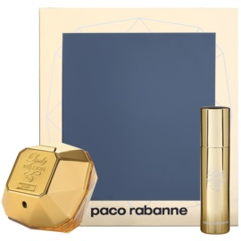 Paco Rabanne Lady Million lote de regalo XXIV. eau de parfum 50 ml + eau de parfum 10 ml