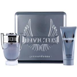 Paco Rabanne Invictus подарунковий набір І  Туалетна вода 100 ml + шампунь для тіла 100 ml