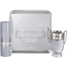 Paco Rabanne Invictus zestaw upominkowy III. woda toaletowa 100 ml + dezodorant w sprayu 150 ml