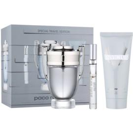 Paco Rabanne Invictus подарунковий набір ХІІ  Туалетна вода 100 ml + Туалетна вода 10 ml + шампунь для тіла 100 ml