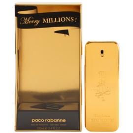 Paco Rabanne 1 Million Merry Millions eau de toilette férfiaknak 100 ml