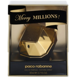 Paco Rabanne Lady Million Merry Millions Parfumovaná voda pre ženy 80 ml