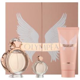 Paco Rabanne Olympea lote de regalo V. eau de parfum 50 ml + leche corporal 100 ml + eau de parfum 6 ml