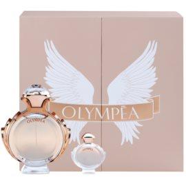 Paco Rabanne Olympea zestaw upominkowy VIII.  woda perfumowana 80 ml + woda perfumowana 6 ml
