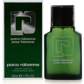 Paco Rabanne Pour Homme toaletní voda pro muže 50 ml