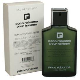 Paco Rabanne Pour Homme туалетна вода тестер для чоловіків 100 мл