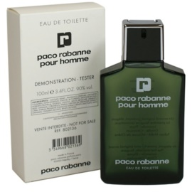Paco Rabanne Pour Homme toaletná voda tester pre mužov 100 ml