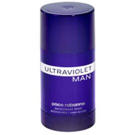 Paco Rabanne Ultraviolet Man desodorizante em stick para homens 75 ml