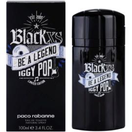 Paco Rabanne Black XS Be a Legend Iggy Pop Eau de Toilette für Herren 100 ml