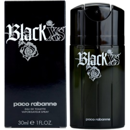Paco Rabanne Black XS  Eau de Toilette für Herren 30 ml