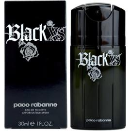 Paco Rabanne Black XS  туалетна вода для чоловіків 30 мл