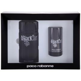 Paco Rabanne Black XS  set cadou V. Apa de Toaleta 100 ml + Deostick 75 ml