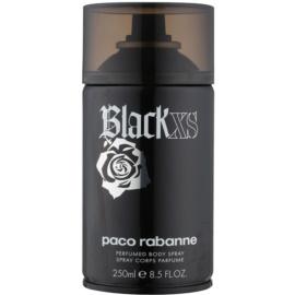Paco Rabanne Black XS  spray de corpo para homens 250 ml
