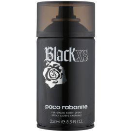 Paco Rabanne Black XS  tělový sprej pro muže 250 ml