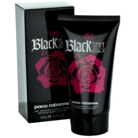 Paco Rabanne Black XS for Her Körperlotion für Damen 150 ml