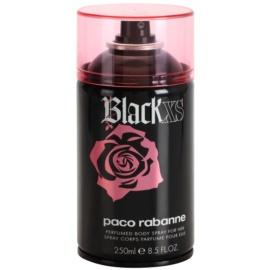 Paco Rabanne Black XS  Körperspray für Damen 250 ml