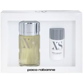 Paco Rabanne XS pour Homme set cadou II. Apa de Toaleta 100 ml + Deo-Stick 75 ml