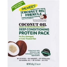 Palmer's Hair Coconut Oil Formula Diepe Herstellende Conditioner  voor Droog en Beschadigd Haar   60 gr