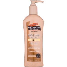 Palmer's Hand & Body Cocoa Butter Formula creme corporal autobronzeador de  bronzeamento gradual   250 ml