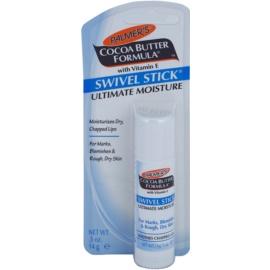 Palmer's Face & Lip Cocoa Butter Formula Balsam für Lippen und trockene Stellen mit feuchtigkeitsspendender Wirkung  14 g