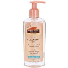 Palmer's Face & Lip Cocoa Butter Formula čisticí olej  pro oči, rty a pleť bez parfemace  150 ml