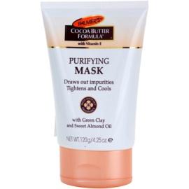 Palmer's Face & Lip Cocoa Butter Formula čisticí pleťová maska  120 g
