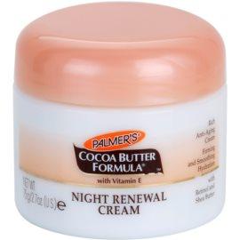 Palmer's Face & Lip Cocoa Butter Formula відновлюючий нічний крем проти старіння шкіри  75 гр
