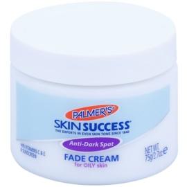 Palmer's Face & Lip Skin Success aufhellende Creme gegen Pigmentflecken für fettige Haut  75 g