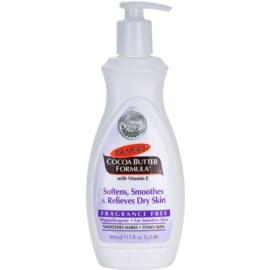 Palmer's Hand & Body Cocoa Butter Formula Bálsamo corporal suave para o alisamento de pele seca sem perfume  400 ml