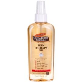 Palmer's Hand & Body Cocoa Butter Formula multifunkčný suchý olej na telo a tvár s vôňou šípok  150 ml
