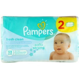 Pampers Fresh Clean Feuchttücher  2 x 64 St.